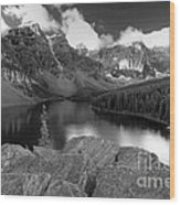 0166 Moraine Lake Wood Print