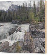 0182 Natural Bridge Waterfall Wood Print
