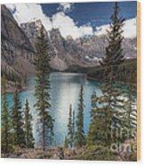 0184 Moraine Lake Wood Print