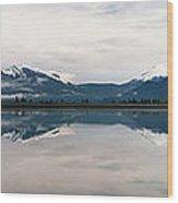 0188 Mountain Reflection Wood Print
