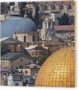 019 Jerusalem Wood Print