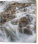 0190 Glacial Runoff 2 Wood Print