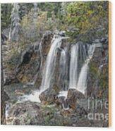 0204 Tangle Creek Falls 3 Wood Print