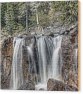 0206 Tangle Creek Falls 2 Wood Print