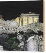 0212 The Acropolis Athens Greece Wood Print