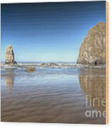 0238 Cannon Beach Oregon Wood Print