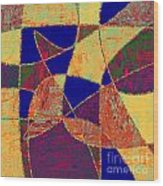 0268 Abstract Thought Wood Print