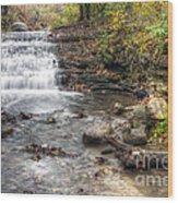 0278 South Elgin Waterfall Wood Print