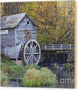 0290 Hyde's Mill Wisconsin Wood Print