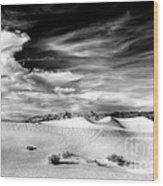 0293 Death Valley Sand Dunes Wood Print