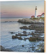 0312 Portland Head Lighthouse Wood Print