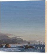 0320 Cannon Beach Oregon Wood Print