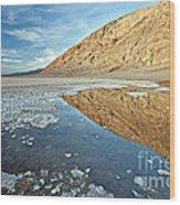0330 Badwater Basin Wood Print