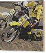 034 Poster Wood Print