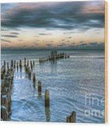 0411 Lake Michigan Wood Print
