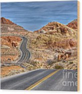 0445 Valley Of Fire Nevada Wood Print