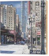 0450 Wabash Avenue Chicago Wood Print
