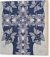046 Butterfly-cross  Wood Print