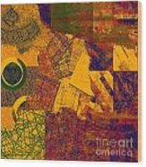 0470 Abstract Thought Wood Print