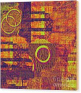 0482 Abstract Thought Wood Print