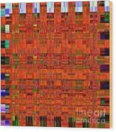0493 Abstract Thought Wood Print by Chowdary V Arikatla