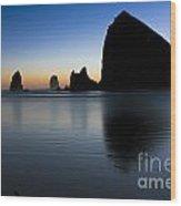 0514 Cannon Beach - Oregon Wood Print