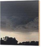 052913 - Severe Storms Over South Central Nebraska Wood Print