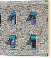 0547 Windows Wood Print