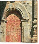 0584 San Juan Capistrano Mission Wood Print