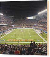 0586 Soldier Field Chicago Wood Print by Steve Sturgill