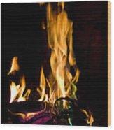 060912-15   Fire Dance Wood Print