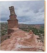 07.30.14 Palo Duro Canyon - Lighthouse Trail 47e Wood Print