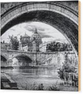 0750 St. Peter's Basilica Wood Print