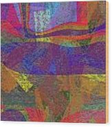 0781 Abstract Thought Wood Print