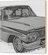 079-car Wood Print