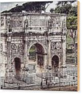 0793 Arch Of Constantine Wood Print