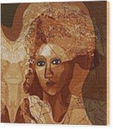 085 -  Romantic Bride  ... Wood Print