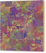 0866 Abstract Thought Wood Print