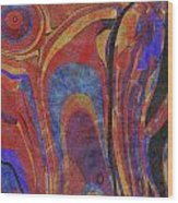 0880 Abstract Thought Wood Print