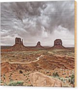 0883 Monument Valley Wood Print