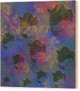 0885 Abstract Thought Wood Print