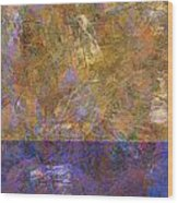 0913 Abstract Thought Wood Print