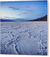0919 Badwater Basin Wood Print