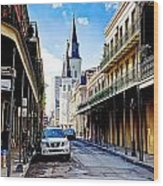 0928 St. Louis Cathedral - New Orleans Wood Print