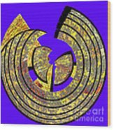 0985 Abstract Thought Wood Print