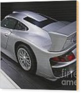 1997 Porsche 911 Gt1 Street Version Wood Print