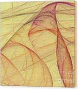 Elegant Abstract Background Wood Print