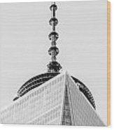Scenery Near World Trade Center In New York C Wood Print