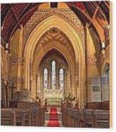 St Giles Shipbourne Wood Print