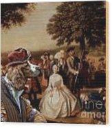 Welsh Springer Spaniel Art Canvas Print Wood Print